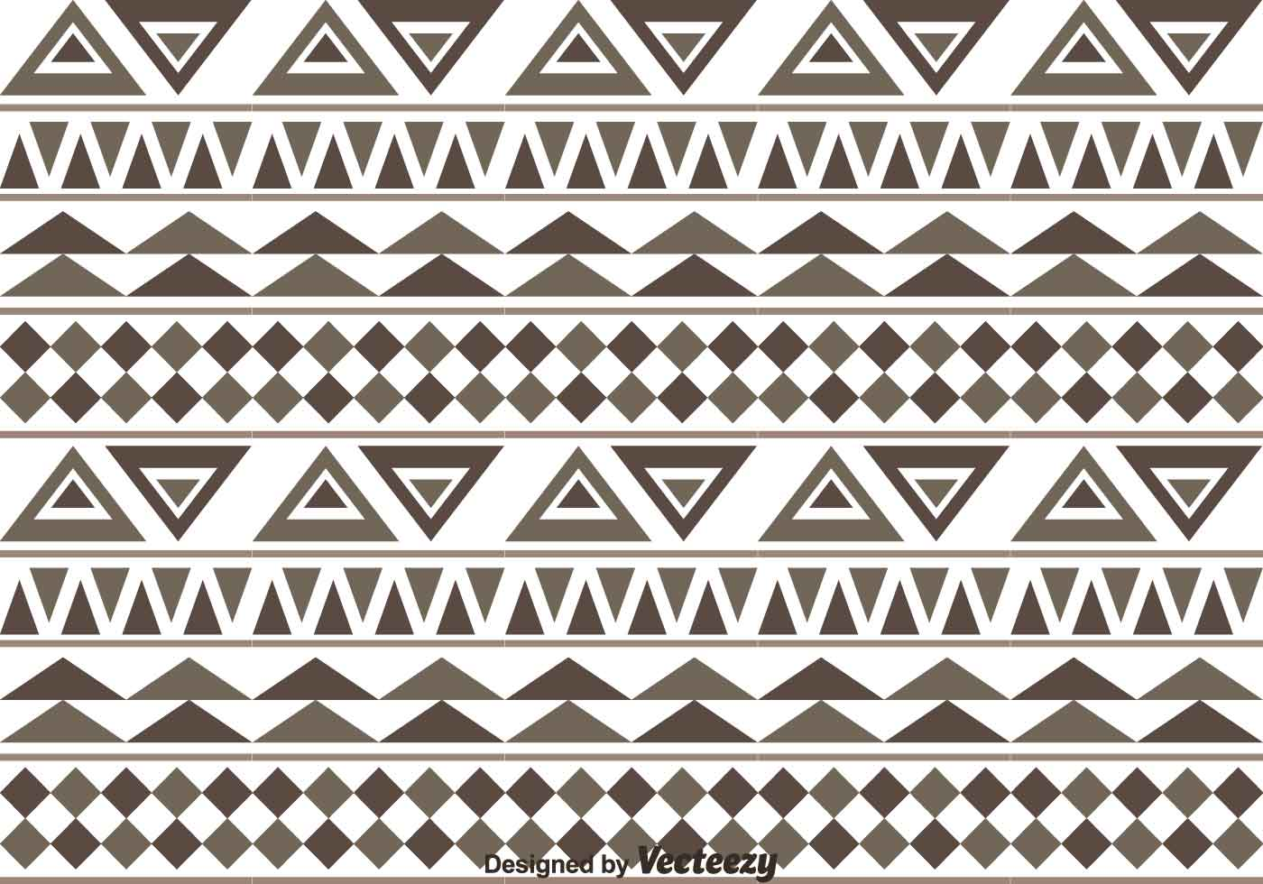 Aztec Pattern Vector - Download Free Vector Art, Stock ...
