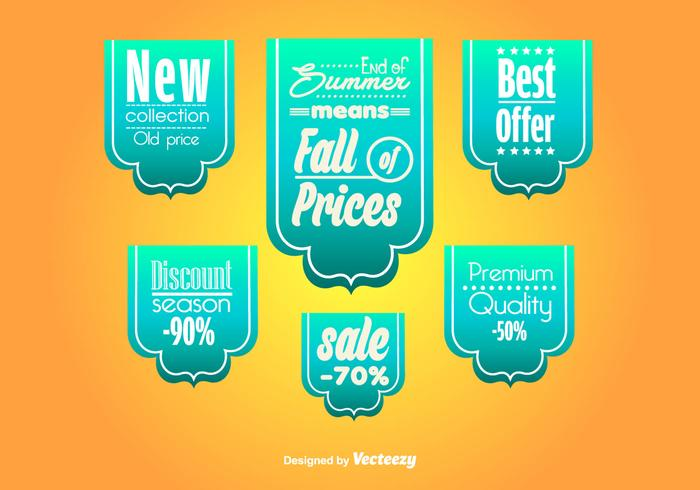 Big Sale Ribbons Templates