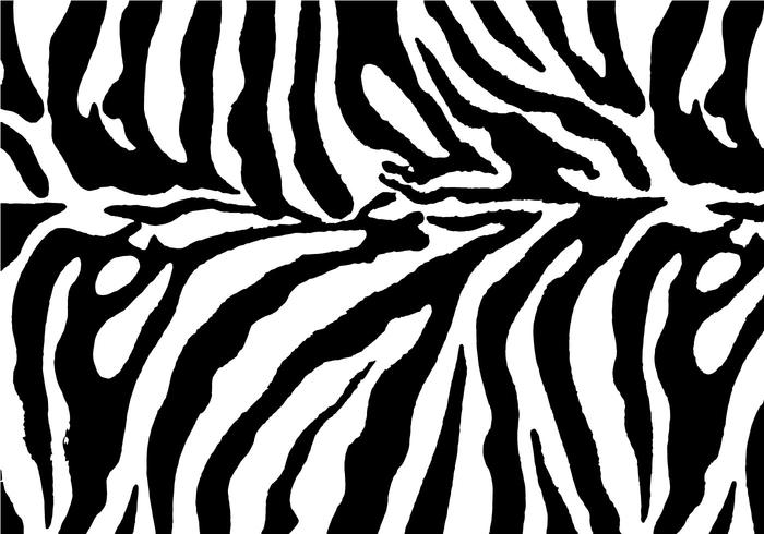 Free Zebra Print Background Vector