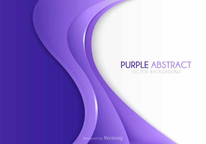 Free Vector Purple Abstract Background