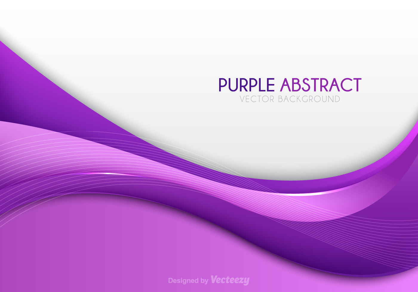 Color Abstract Vector Background Text Frame Stock Vector: Purple Abstract Vector Background