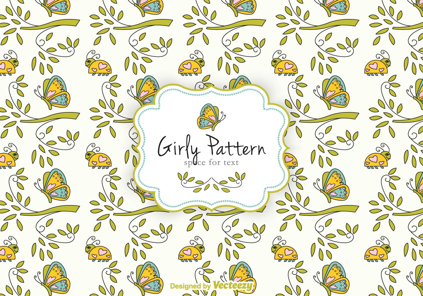 Girly Pattern Free Vector Art - (10800 Free Downloads)