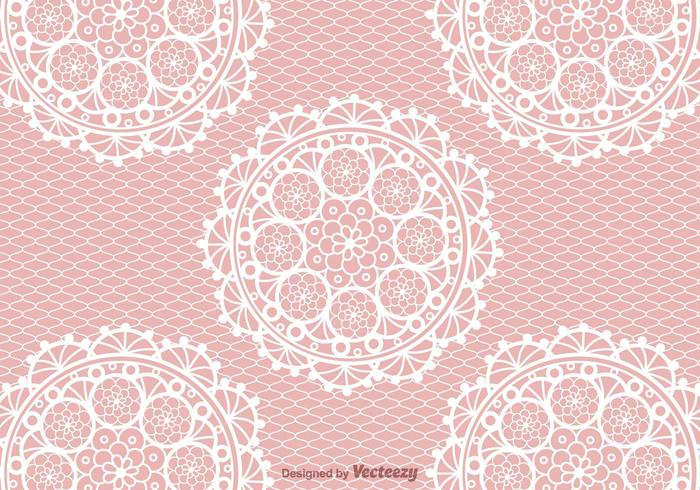 Crochet Patterns Vector : Free Crochet Lace Vector Background - Download Free Vector Art, Stock ...