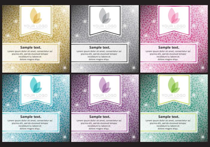Glitter Background Templates