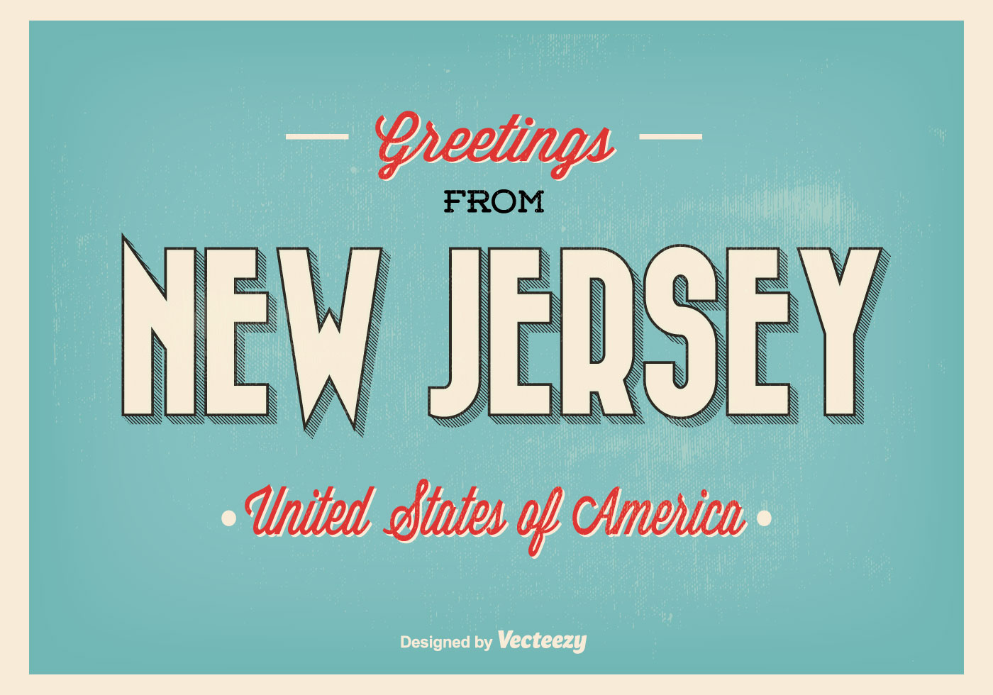 vector-greetings-from-new-jersey-illustration Old Letter Paper Template on nfl team, english writing, fashioned love,