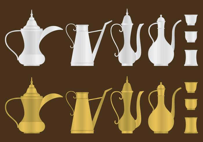 Arabic Coffee Pots
