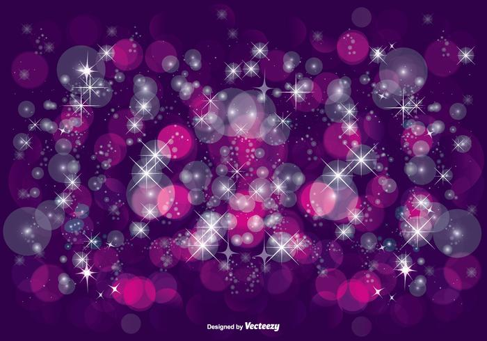 Beautiful Purple Glitter Illustration vector