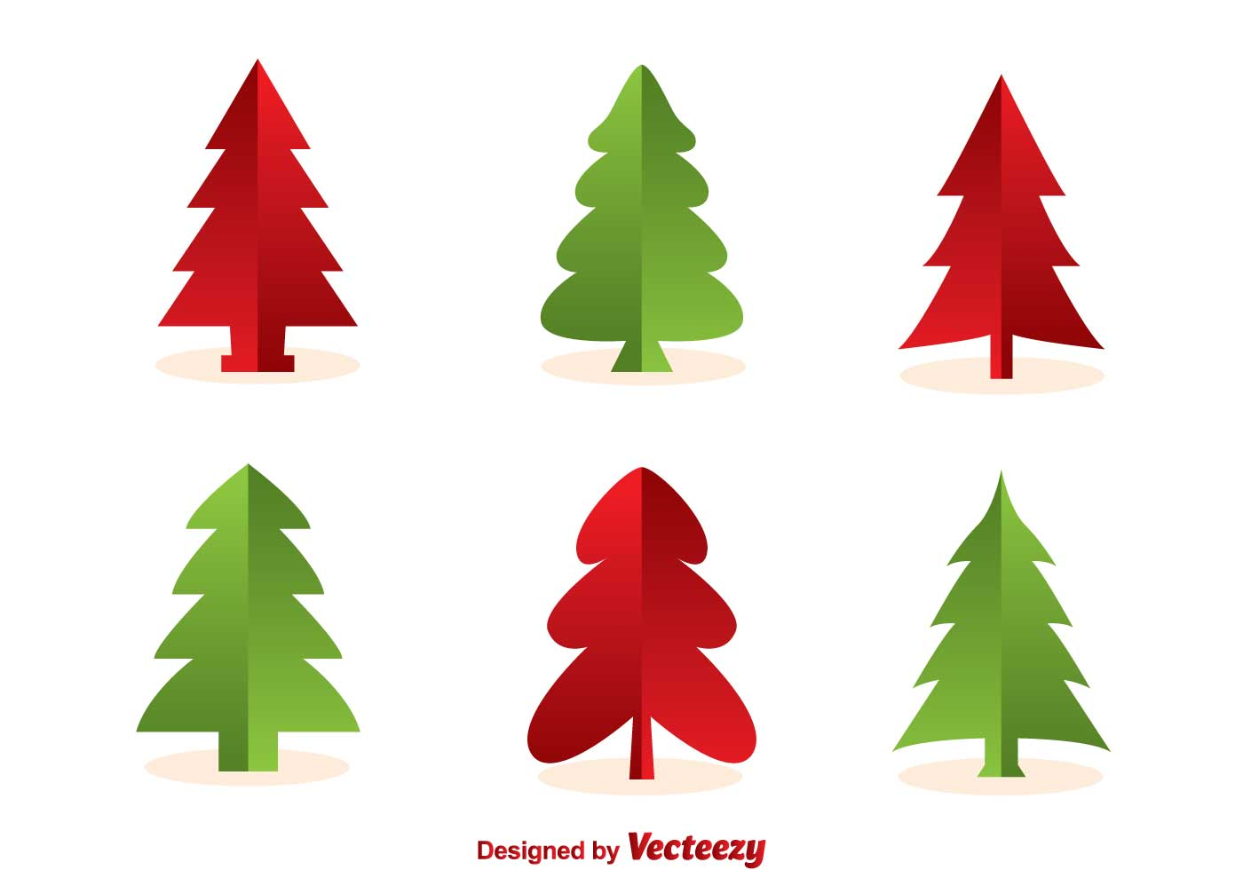 Christmas Tree Silhouette Vectors - Download Free Vector Art, Stock ...
