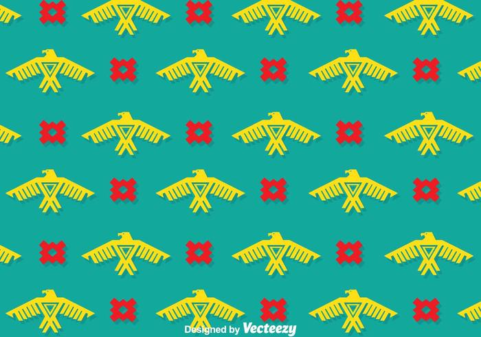 Eagle Ethnic Pattern Vectors
