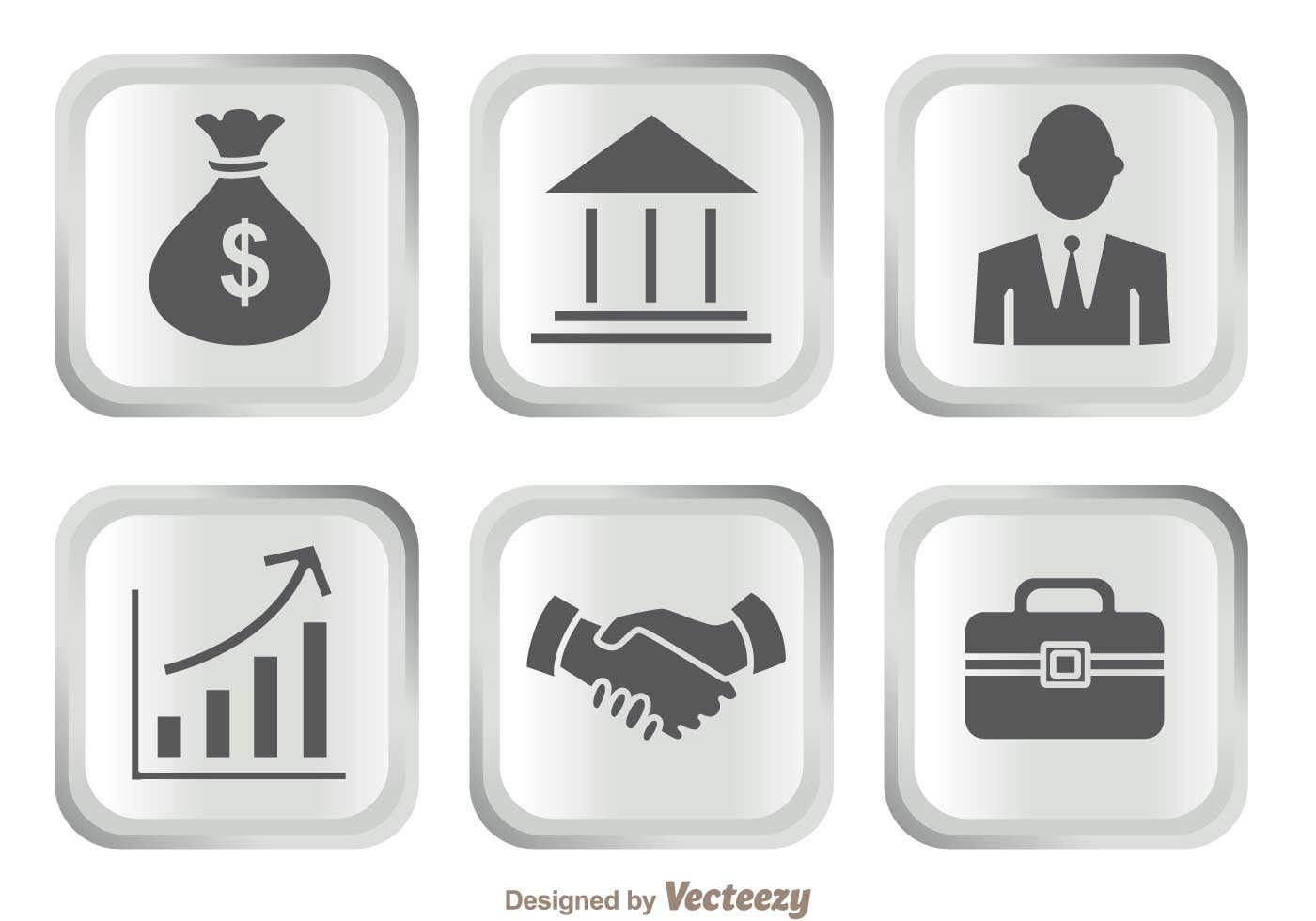 silver bank icons