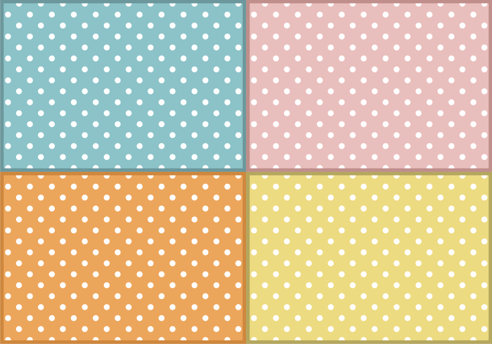 Baby Polka Dots Patterns Free Vector Download Free Vector Art Magnificent Baby Patterns