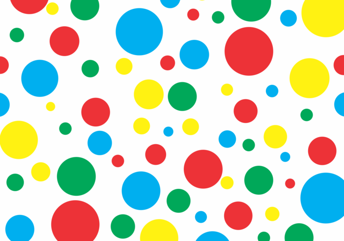Twister Polka Dots Free Vector