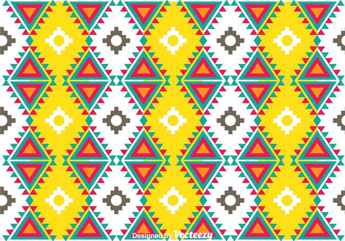 Colorful Aztec Pattern Download Free Vector Art Stock Graphics Adorable Aztec Pattern