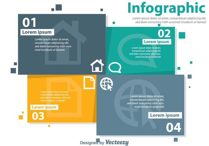 Office Infography Vectors