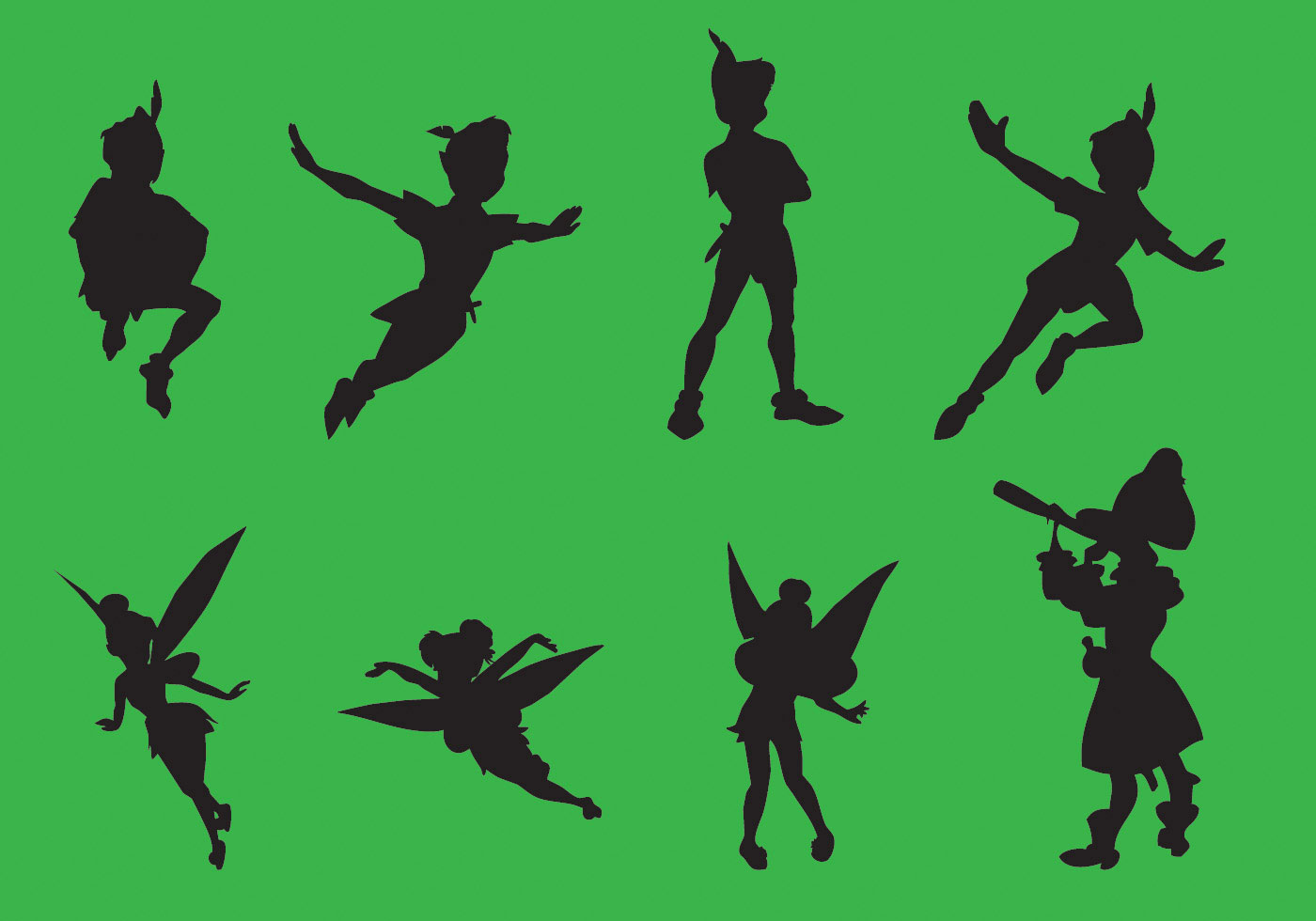 The character of peter pan