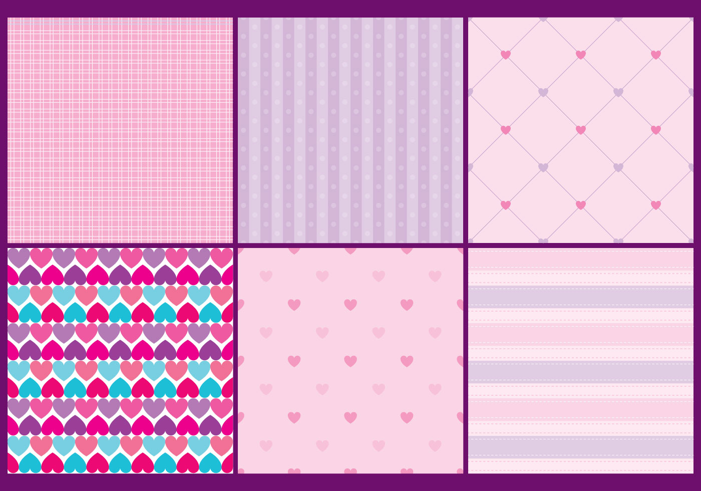 Girly Heart Patterns Download Free Vectors Clipart