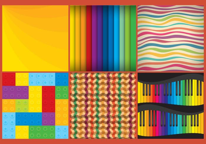 Vector Colorful Patterns