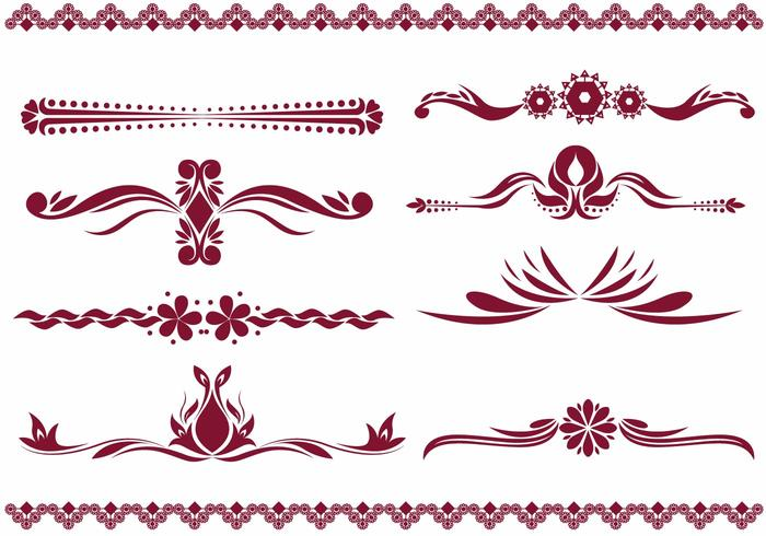 Fancy Line Vectors