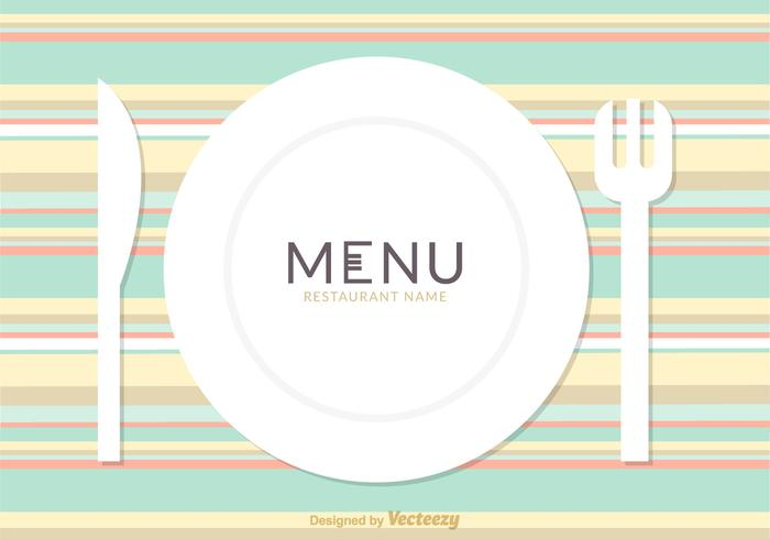 Free Restaurant Menu Card Vector Design