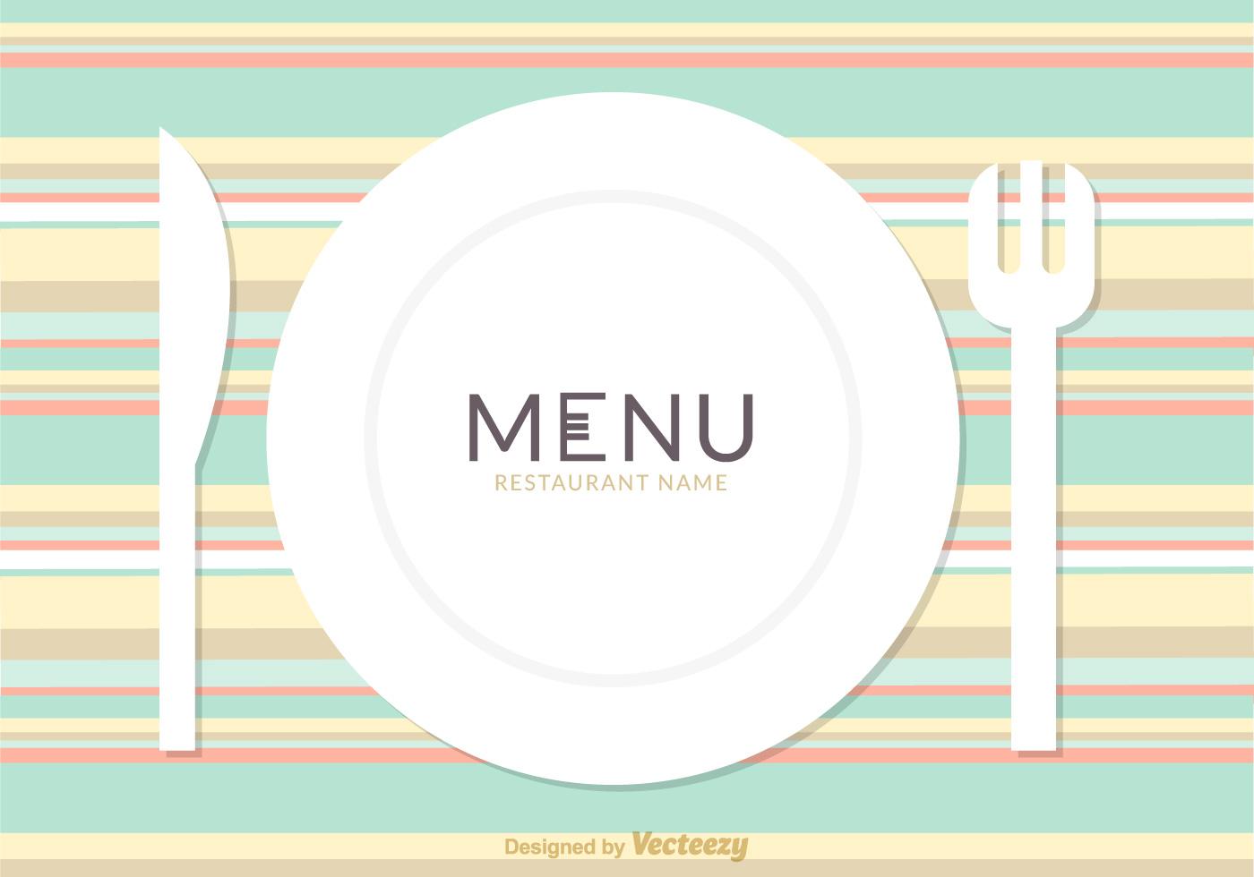 Free Restaurant Menu Card Vector Design Download Free Vector Art Stock Graphics Amp Images