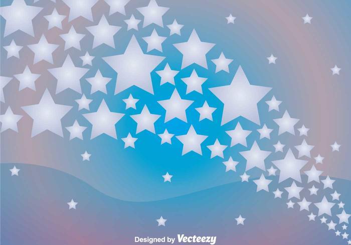 Star Wave Background
