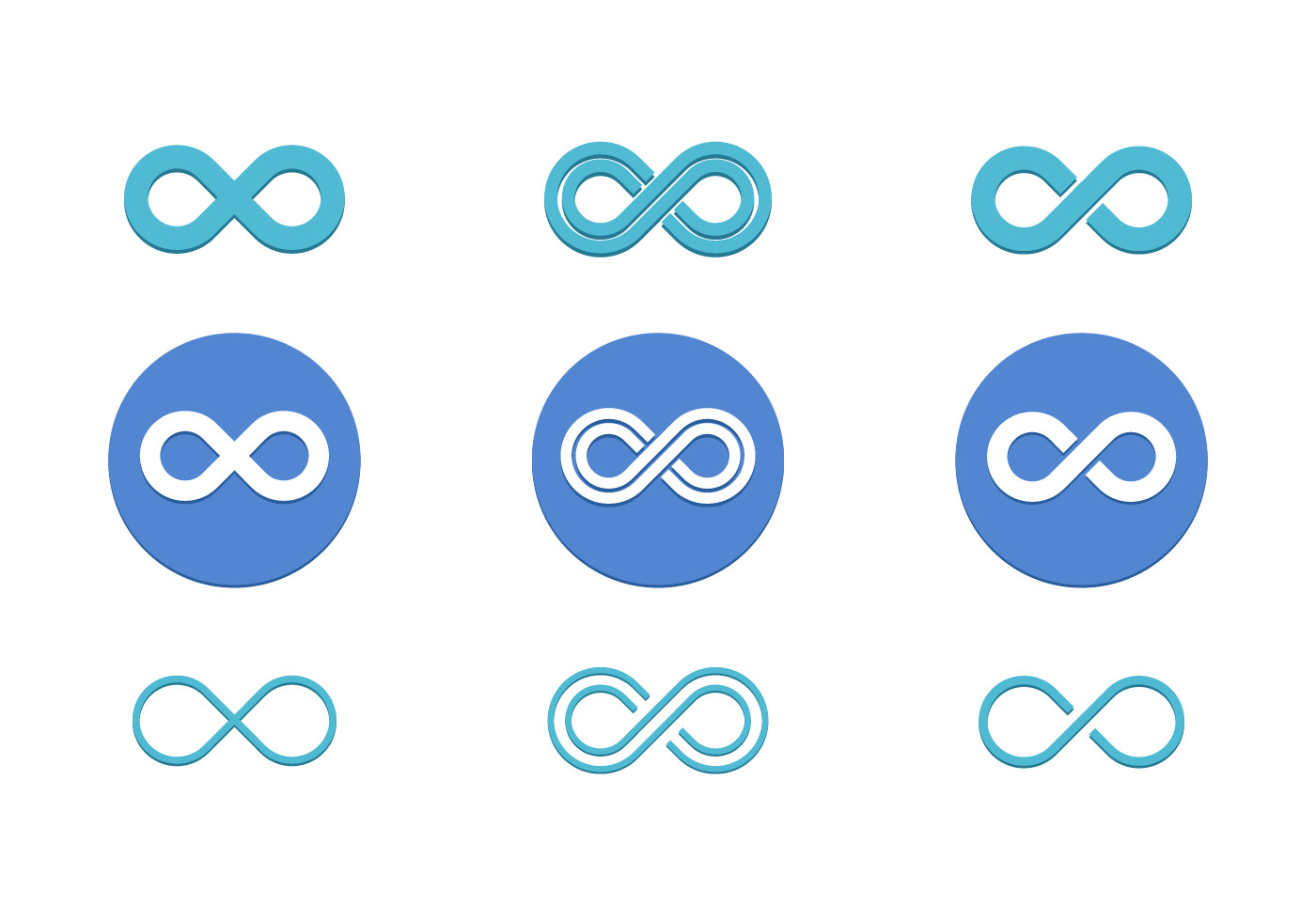 Infinite Loop Vector Pack Flat Icon Download Free Vector Art Stock Graphics Amp Images