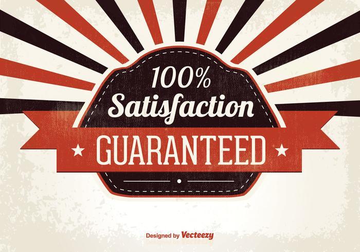 Satisfaction Guaranteed Illustration