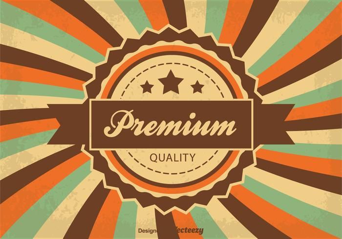 Guaranteed Quality Background Illustration