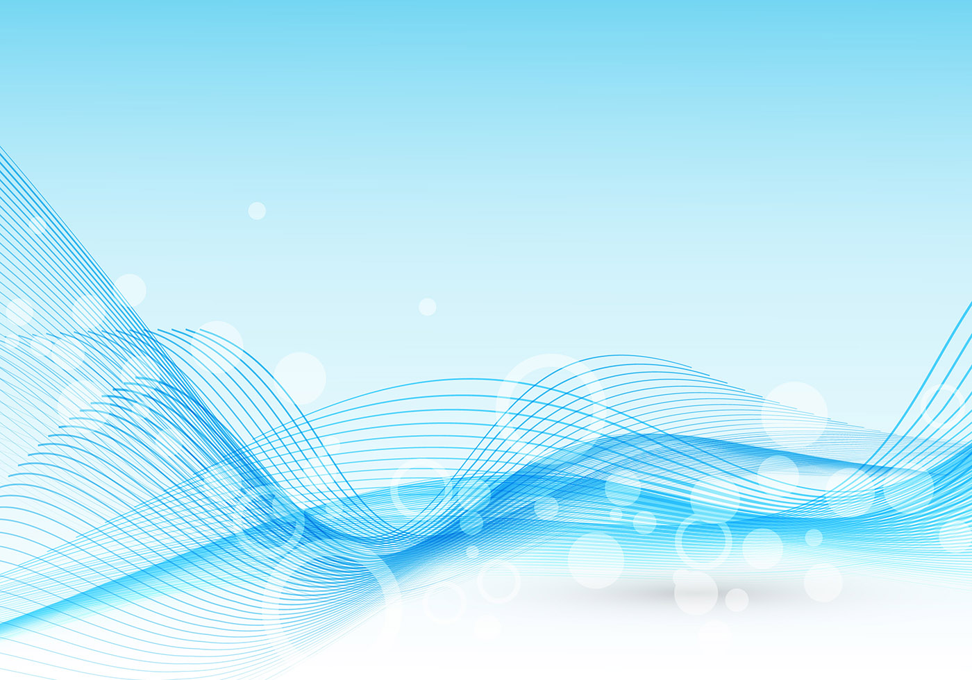 Abstract Light Blue Wave Vector - Download Free Vector Art ...