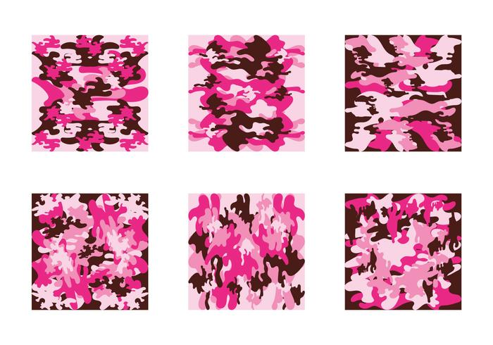 Pattern Vector Free Pink Camo