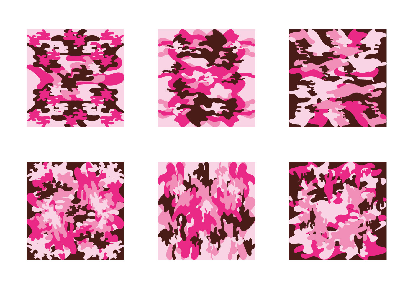 Free Pink Camo Vector Pattern - Download Free Vector Art ...
