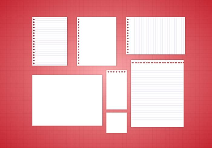 Free Note Paper Vector