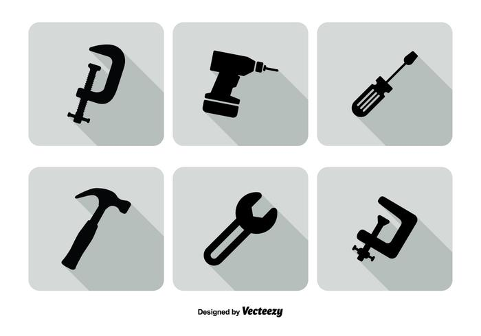 Assorted Tools Icon Set