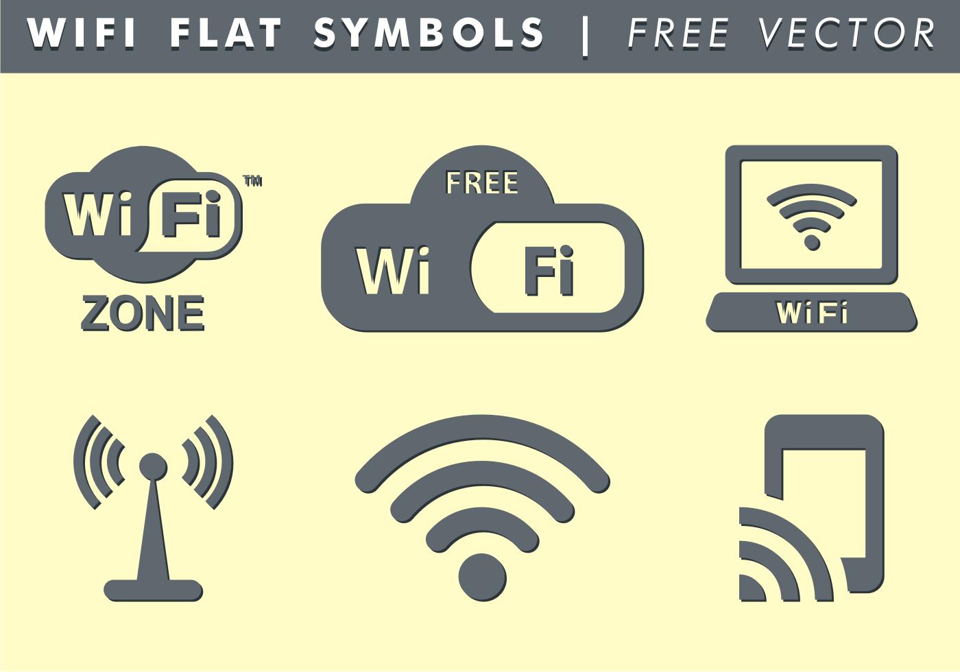 Wifi Symbols Free Vector Download Free Vector Art Stock