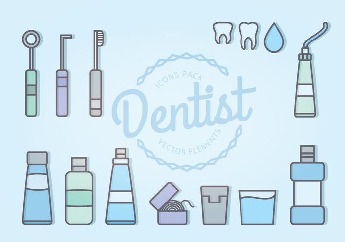 Vector Dentist Icons