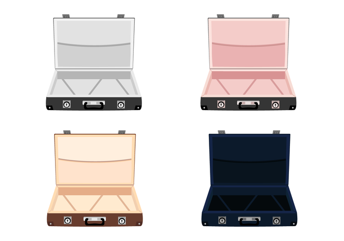 Free Open Suitcase Vector