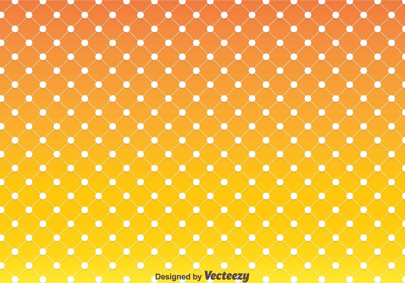 orange polka dot pattern vector download free vector art