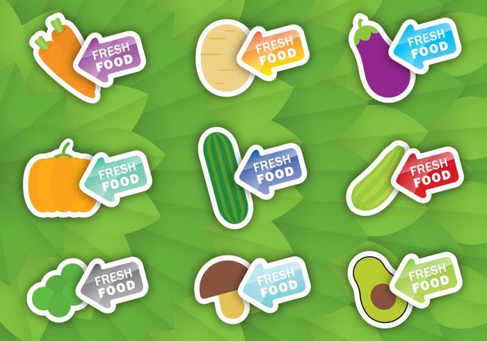 Veggie Label Vectors