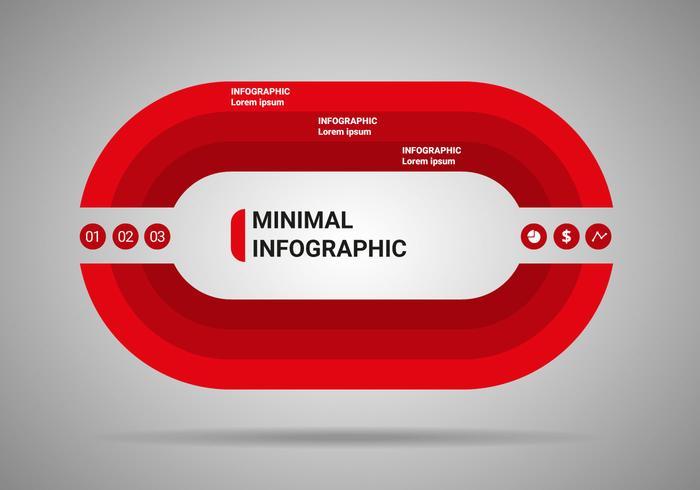 Free Minimal Infographic Vector