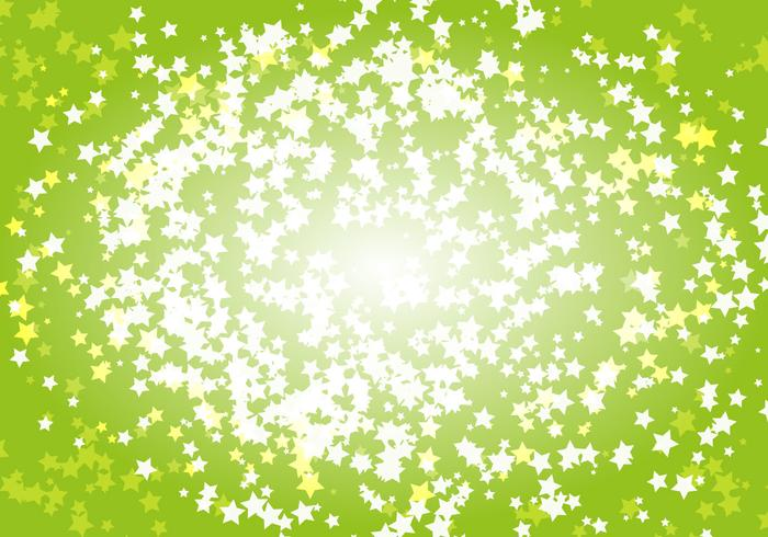 Free Bright Stars Background Vector