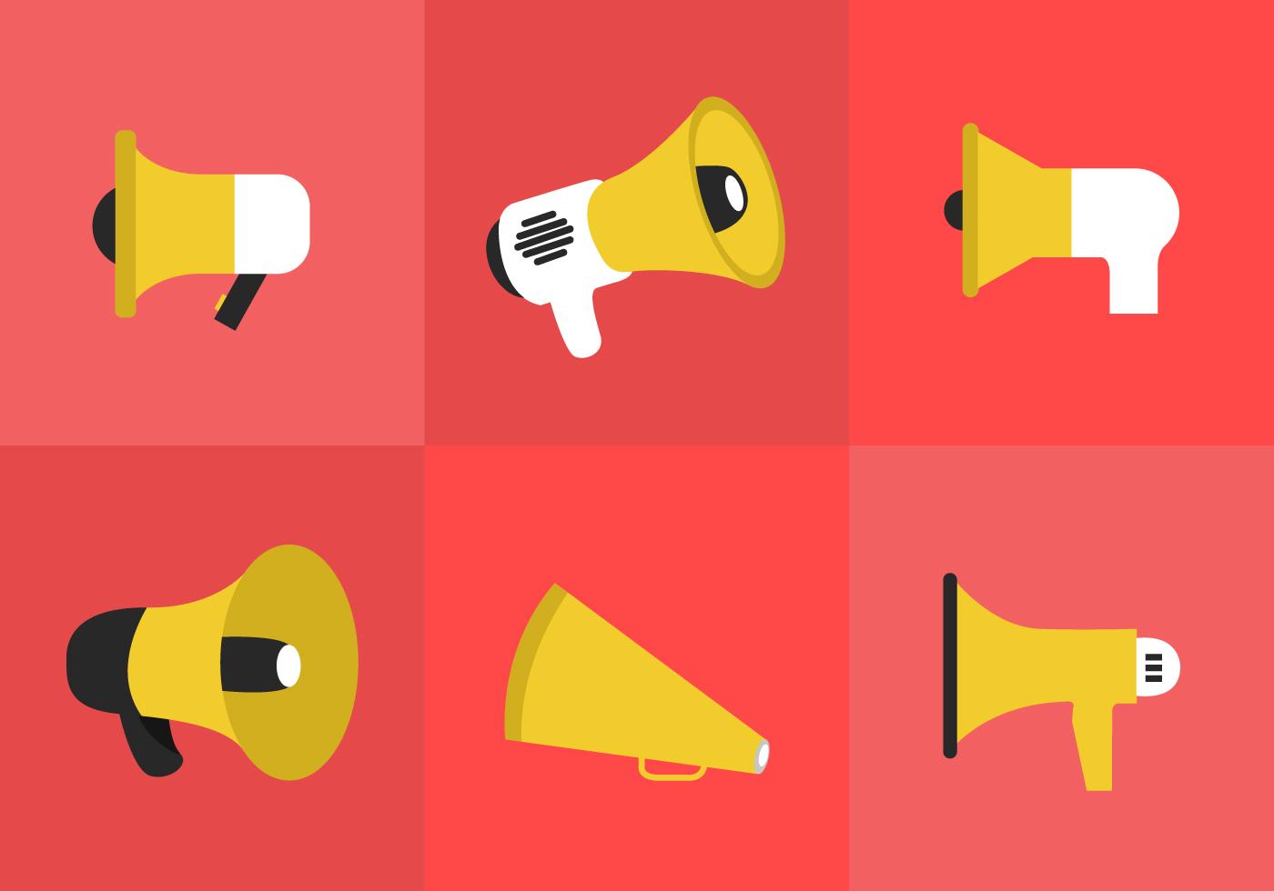 Megaphone Icon Download Free Vector Art Stock Graphics