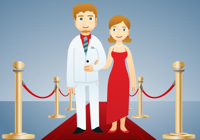 Famous Couple Vector