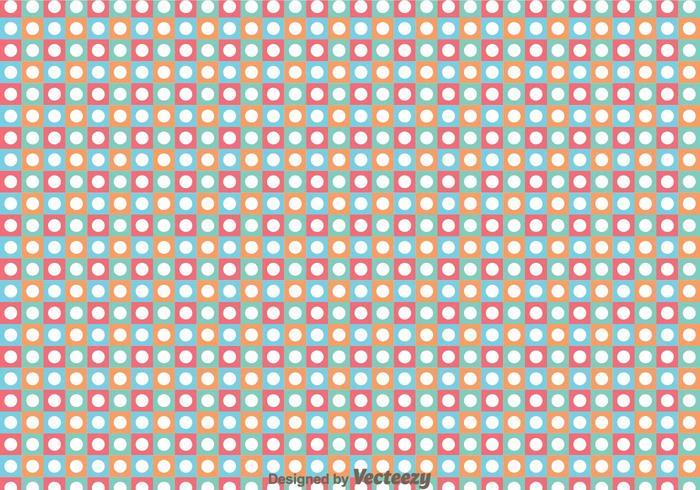 Vector de patrón de puntos
