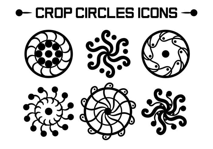 Crop Circles Vectors