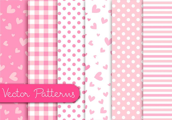 Romantic Pink Patterns