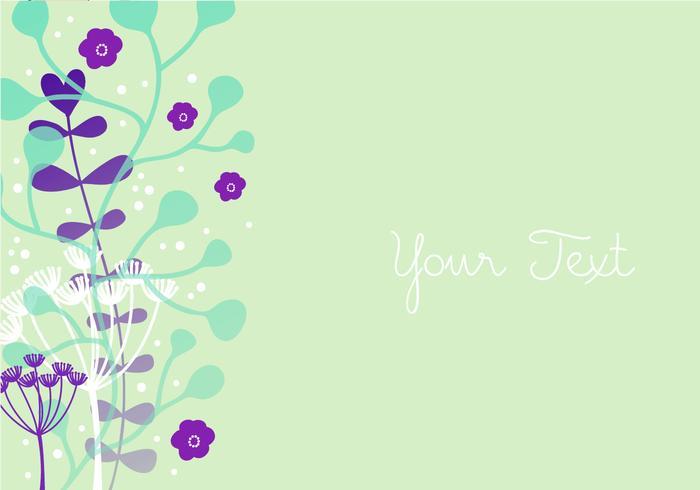Floral Bunte Hintergrund Design