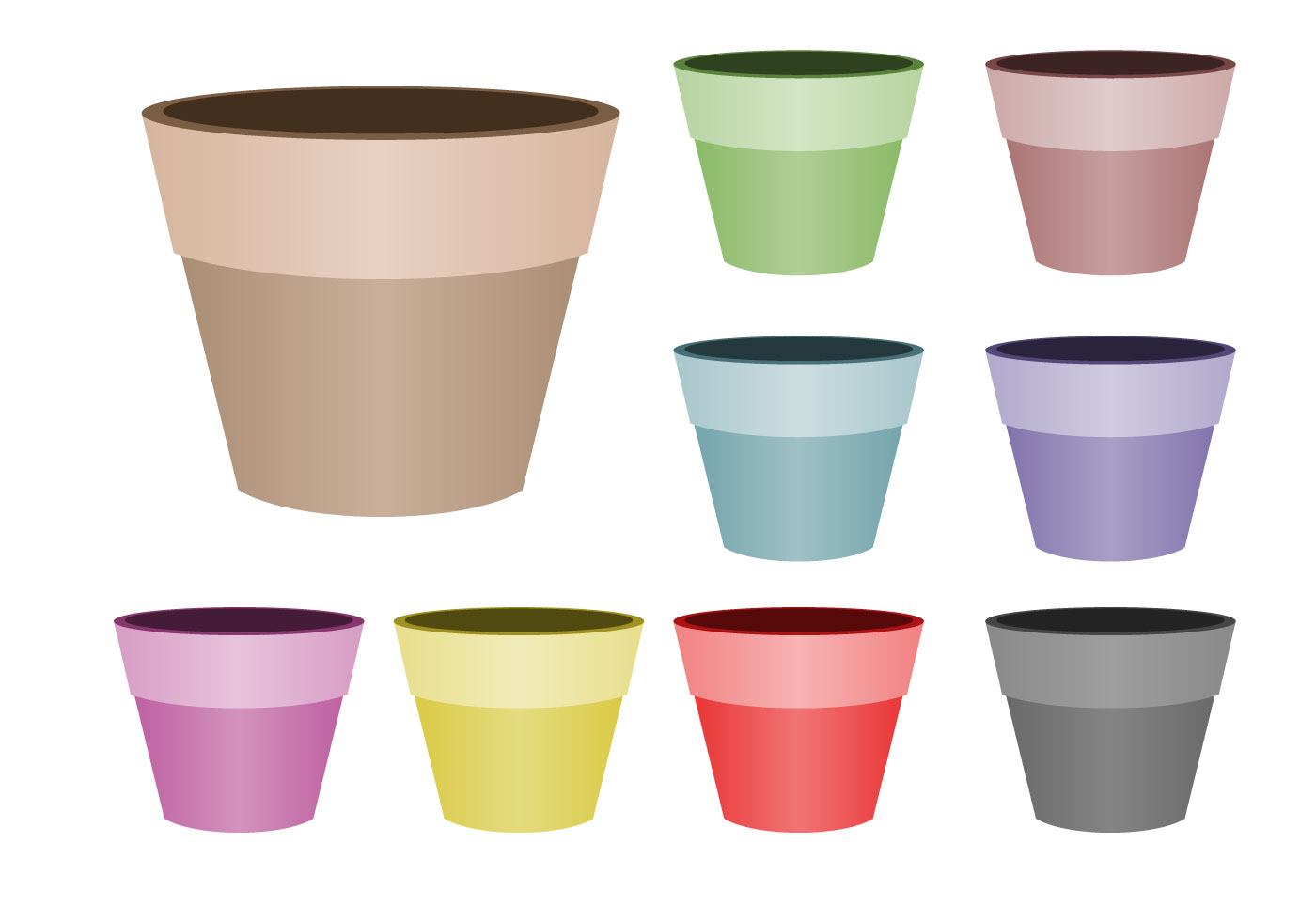 Flower pot Icons - 1,217 free vector icons - SVG, PSD, PNG ...