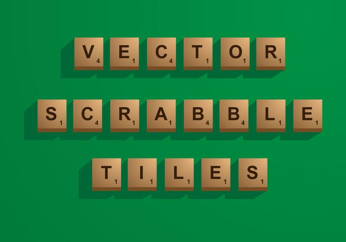 Tijolos Scrabble Vector