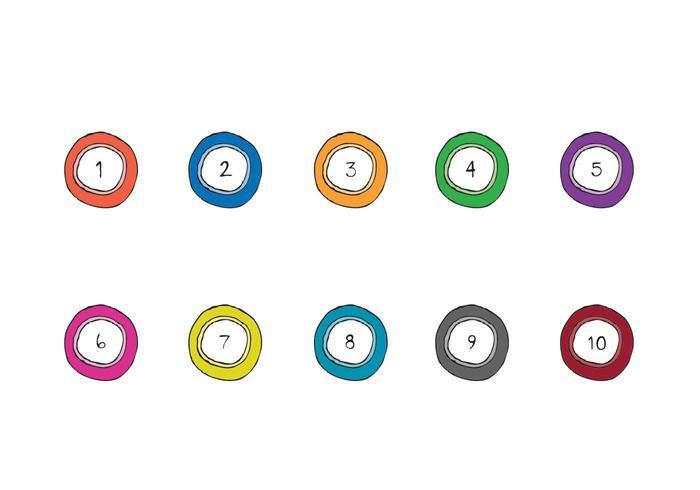Free Lotto Balls Vector Series
