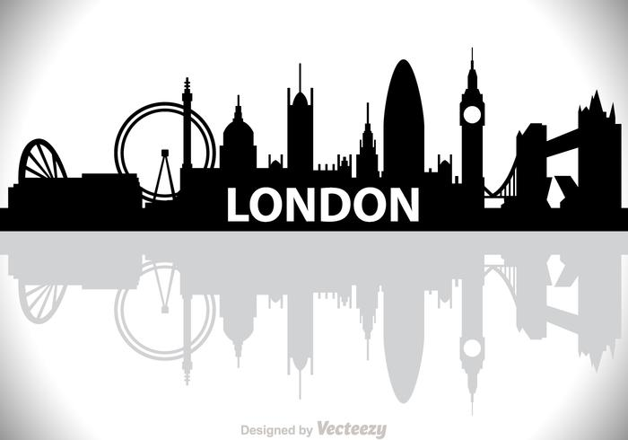 Londres city scape vector